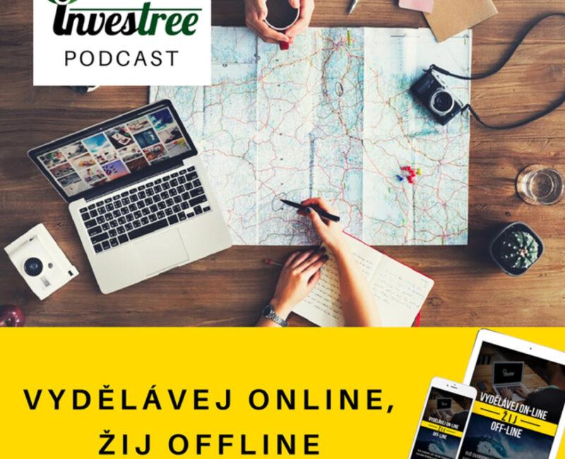 Vydělávej online, žij offline podcast