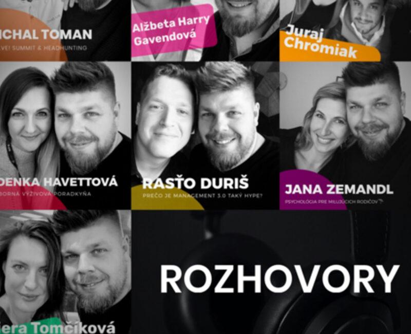 ROZHOVORY podcast