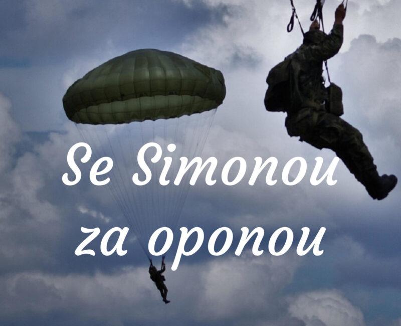 Se Simonou za oponou